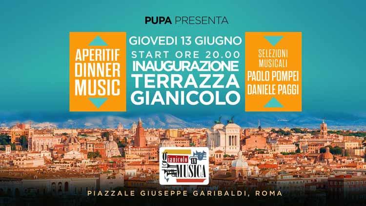 Terrazza Del Gianicolo Giovedì 13 Giugno 2019 Discoteche Roma