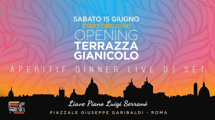 Terrazza Del Gianicolo Sabato 15 Giugno 2019 Discoteche Roma