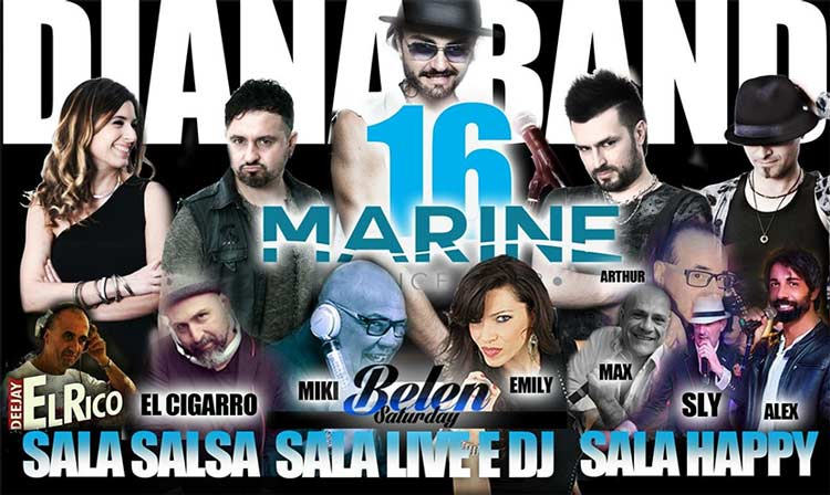 Marine Village sabato 16 Giugno 2018 - Saturday Night