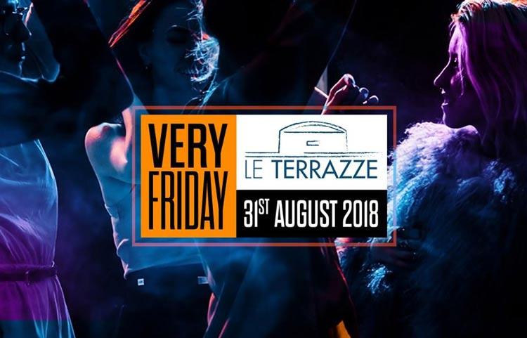 Le Terrazze Eur Roma Venerdì 31 Agosto 2018 Discoteche Roma